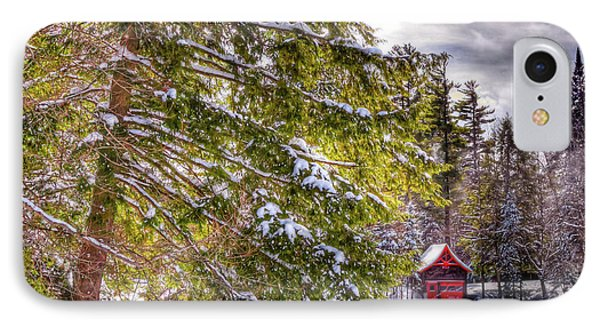 IPhone Case featuring the photograph The Secluded Boathouse by David Patterson