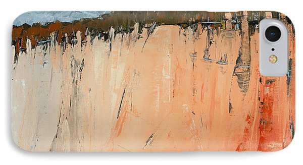 The Second Cliff Edge IPhone Case by Carolyn Doe
