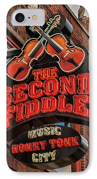 IPhone Case featuring the photograph The Second Fiddle Nashville by Stephen Stookey