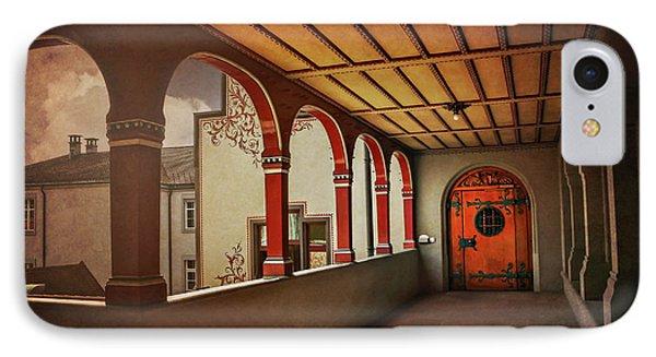 The Secret Door In Basel Switzerland  IPhone Case by Carol Japp