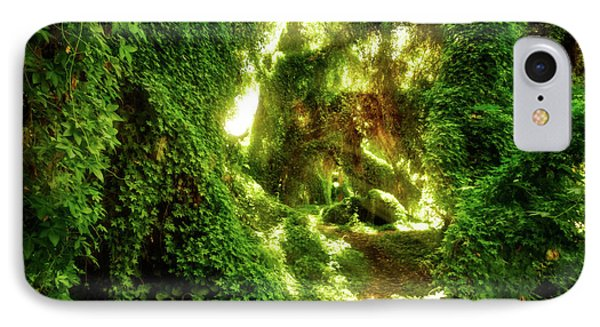 The Secret Garden, Perth IPhone Case by Dave Catley