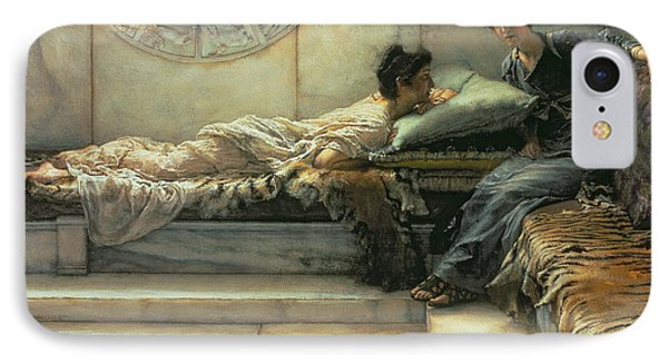 The Secret IPhone Case by Sir Lawrence Alma-Tadema