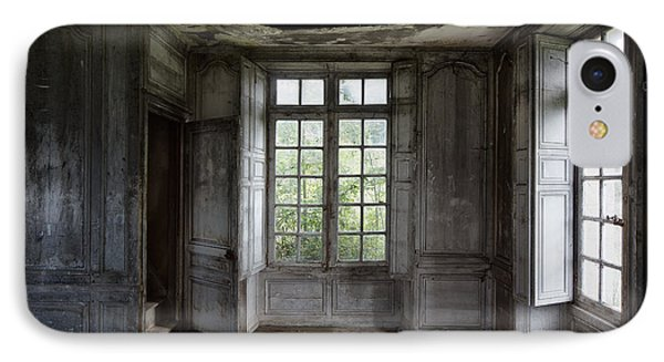 The Secret Stairs To Heaven - Abandoned Building IPhone Case by Dirk Ercken