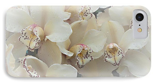 The Secret To Orchids IPhone Case by Sherry Hallemeier