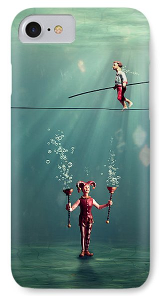 The Secret Venetian Circus Phone Case by Martine Roch