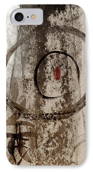 IPhone Case featuring the painting The Seed Within by Carol Leigh