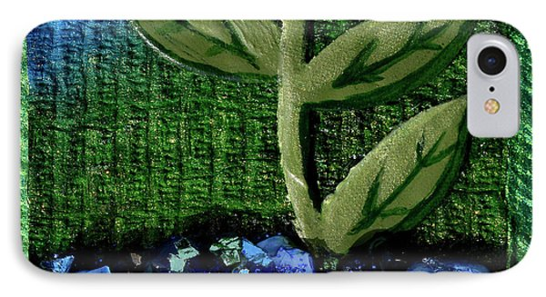 The Seedling IPhone Case by Donna Blackhall