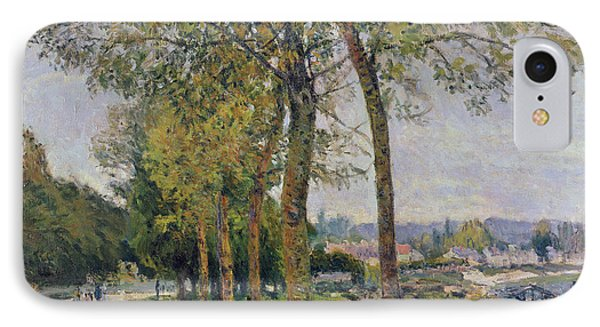 The Seine At Marly IPhone Case by Alfred Sisley