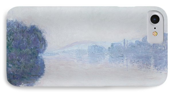 The Seine Near Vernon Phone Case by Claude Monet
