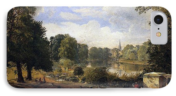 The Serpentine IPhone 7 Case by Jasper Francis Cropsey