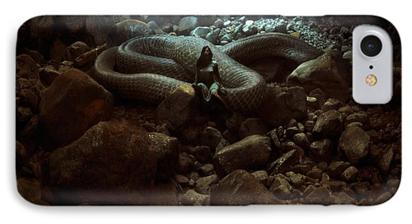 The Serpent's Lair IPhone Case by Michal Karcz