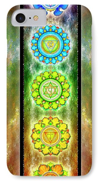 The Seven Chakras - Series 3 IPhone Case