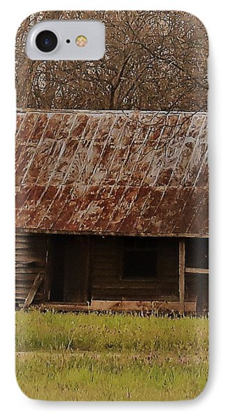 IPhone Case featuring the photograph The Shack by Aaron Martens