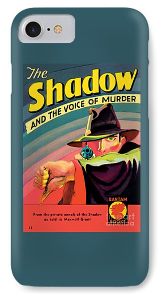 IPhone Case featuring the painting The Shadow by George Rozen