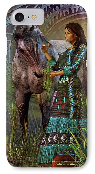 The Horse Whisperer IPhone Case by Shadowlea Is