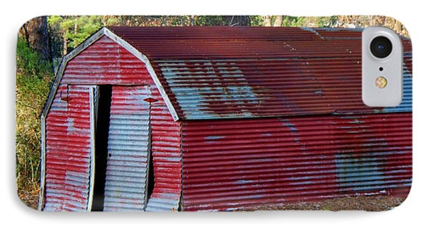 The Shed IPhone Case by Betty Northcutt