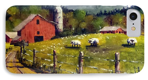 The Sheep Farm IPhone Case by Jim Phillips