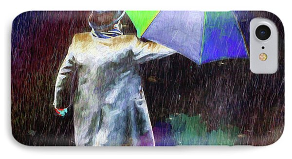 IPhone Case featuring the photograph The Sheer Joy Of Puddles by LemonArt Photography