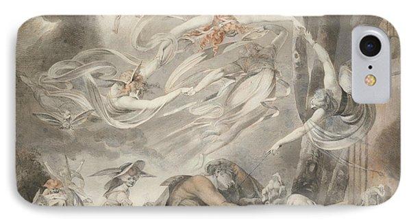 The Shepherd's Dream IPhone Case by Henry Fuseli