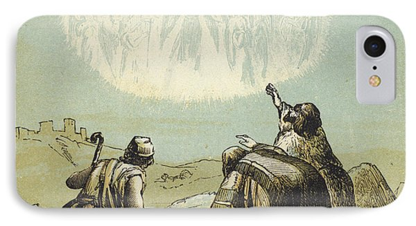 The Shepherds In The Field IPhone Case by English School