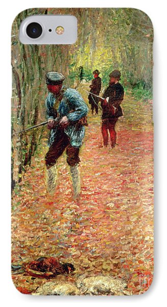 The Shoot Phone Case by Claude Monet
