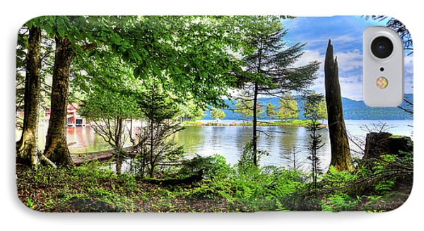 IPhone Case featuring the photograph The Shore At Covewood by David Patterson