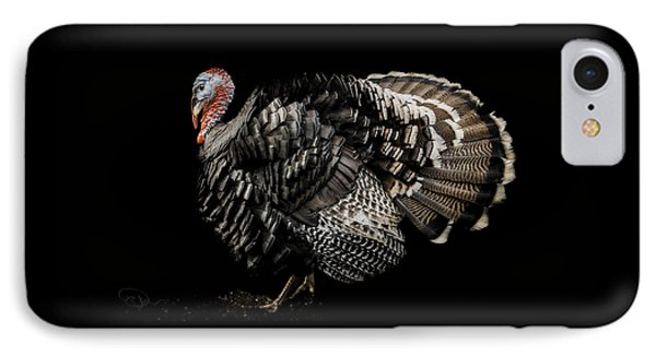 Turkey iPhone 7 Case - The Showman by Paul Neville