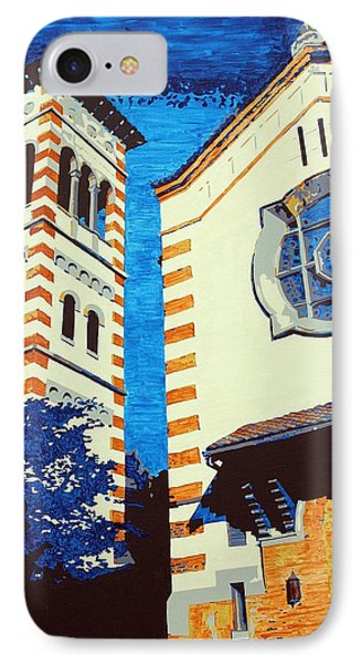 The Shrine Of The Miraculous Medal Phone Case by Sheri Buchheit