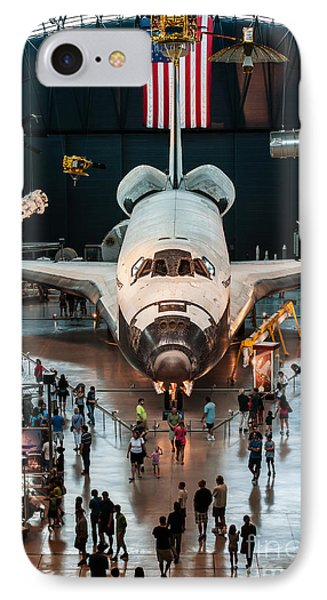 The Shuttle IPhone Case by Jim Moore