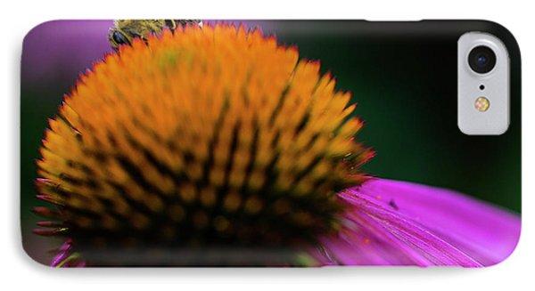The Shy Bee IPhone Case by Jeff Klingler