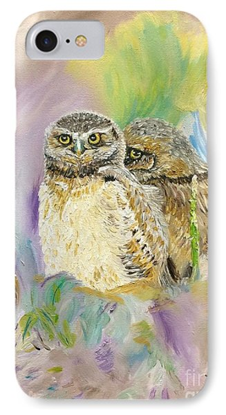 The Shy Owl IPhone Case by Lorie Smith