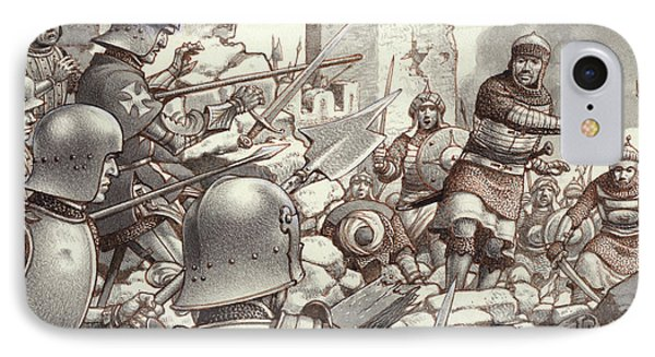 The Siege Of Rhodes Of 1522  IPhone Case by Pat Nicolle