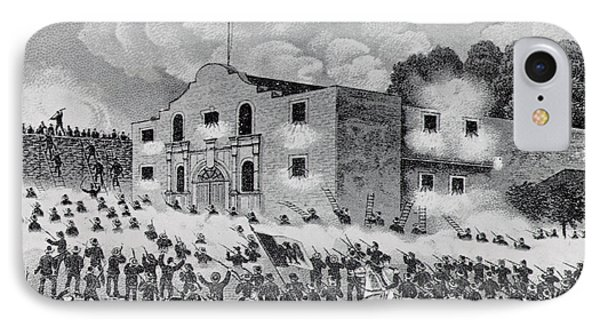 The Siege Of The Alamo IPhone Case