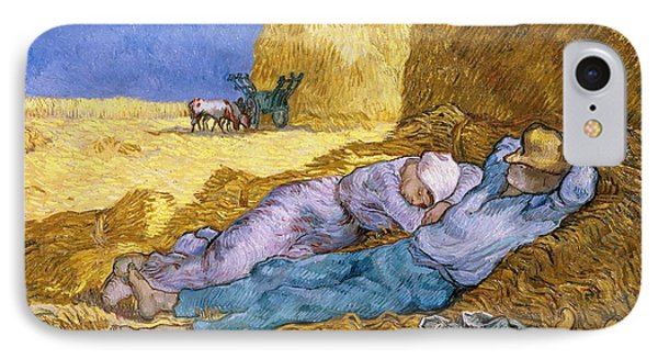 The Siesta IPhone Case by Vincent Van Gogh