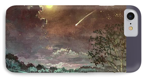 The Silence Of A Falling Star IPhone Case by Randy Burns