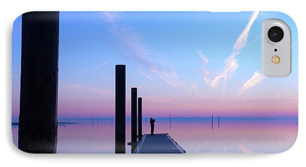 IPhone Case featuring the photograph The Silent Man by Thierry Bouriat