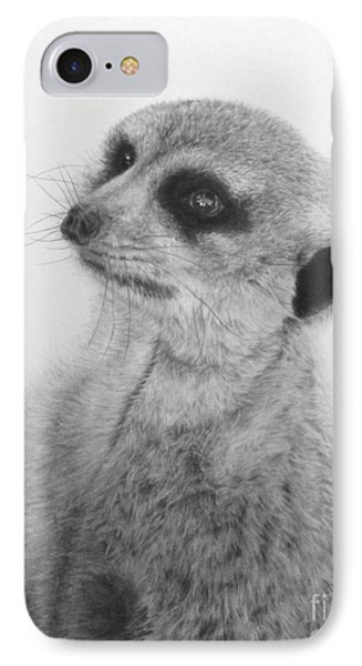 The Silent Sentry IPhone Case by Jennifer Watson