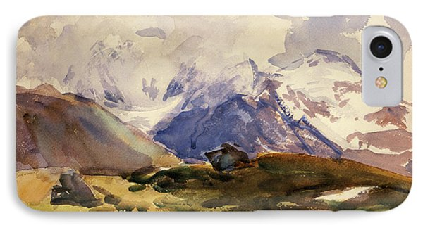 The Simplon IPhone Case by John Singer Sargent
