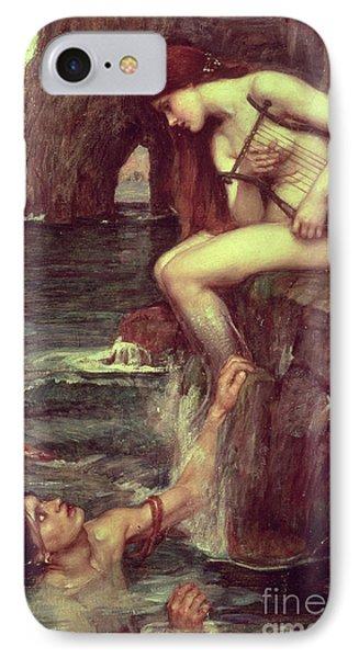 The Siren Phone Case by John William Waterhouse