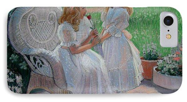 The Sister's Garden Phone Case by Sue Halstenberg