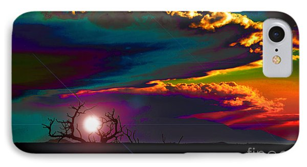 The Skies Changed As The Minds Awakened IPhone Case by Susanne Still