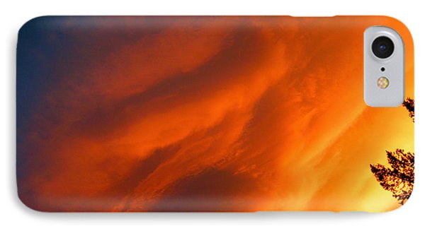 The Sky Is Burning IPhone Case