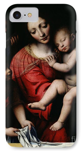 The Sleeping Christ IPhone Case by Bernardino Luini