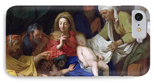 The Sleeping Christ Phone Case by Charles Le Brun
