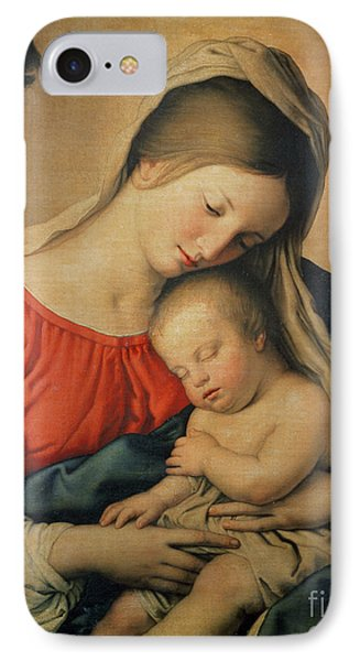 The Sleeping Christ Child IPhone Case by Il Sassoferrato