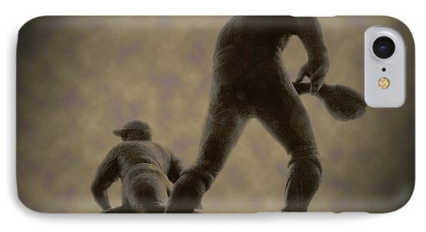 The Slide - Kick Up Some Dust IPhone Case by Bill Cannon