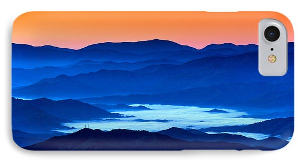 The Smokies Before Dawn IPhone Case by Rick Berk