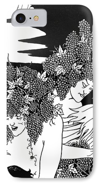 The Snare Of Vintage IPhone Case by Aubrey Beardsley