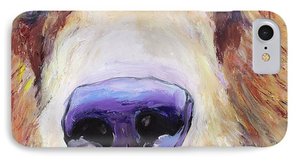 The Sniffer IPhone Case by Pat Saunders-White