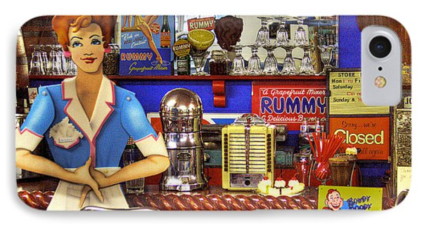 The Soda Fountain Phone Case by David Patterson